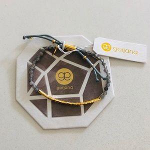 Gorjana Power Gemstone Bracelet Labradorite Gold